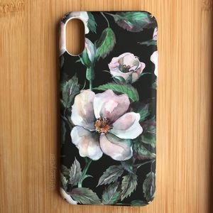 Accessories - NEW Iphone X Flowers Floral Case